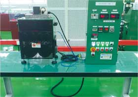 Bearing high-temperature and high-speed grease tester